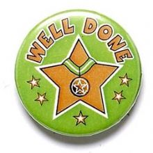 Well Done Badge